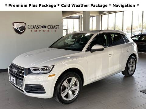 2019 Audi Q5 for sale at Coast to Coast Imports in Fishers IN