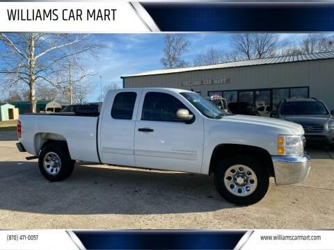 2013 Chevrolet Silverado 1500 for sale at WILLIAMS CAR MART in Gassville AR