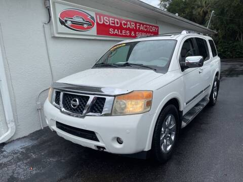 2010 Nissan Armada for sale at Used Car Factory Sales & Service in Port Charlotte FL