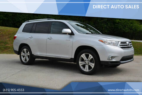 2012 Toyota Highlander for sale at Direct Auto Sales in Franklin TN