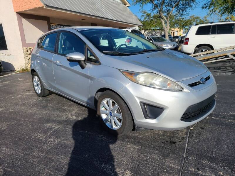 2013 Ford Fiesta for sale at CAR-RIGHT AUTO SALES INC in Naples FL