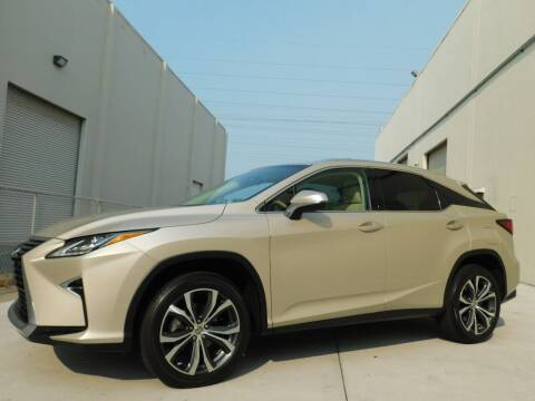 2017 Lexus RX 350 for sale at Conti Auto Sales Inc in Burlingame CA