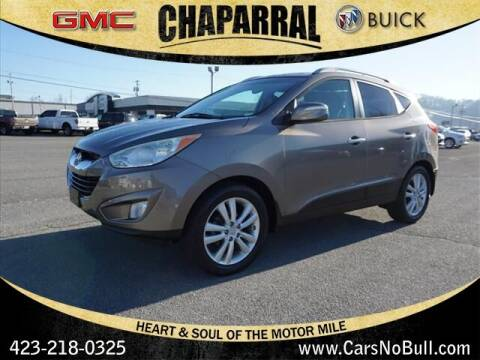 2011 Hyundai Tucson for sale at CHAPARRAL USED CARS in Piney Flats TN