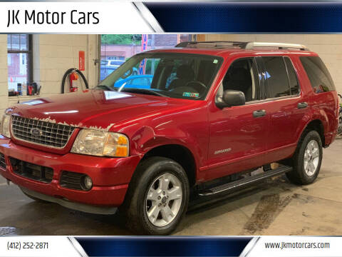 2005 Ford Explorer for sale at JK Motor Cars in Pittsburgh PA