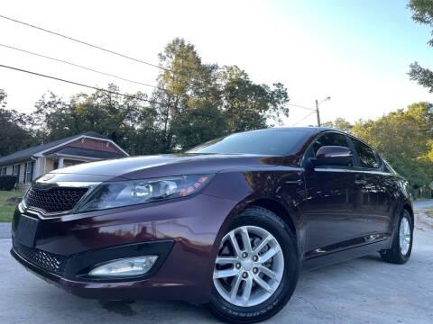 2012 Kia Optima for sale at Cobb Luxury Cars in Marietta GA