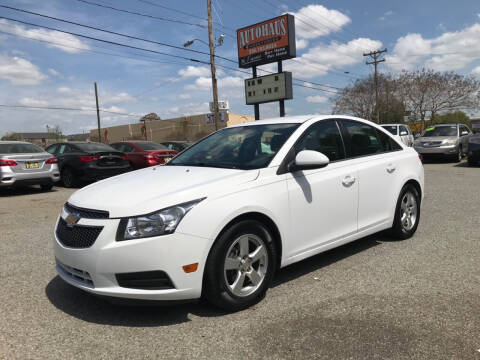 2014 Chevrolet Cruze for sale at Autohaus of Greensboro in Greensboro NC