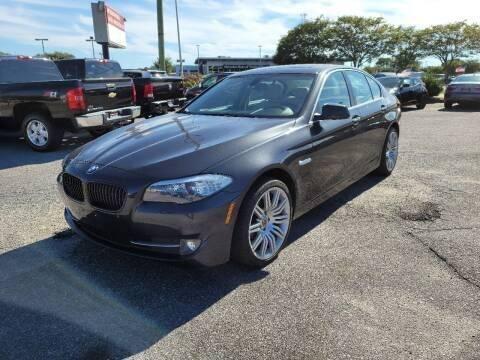 2013 BMW 5 Series for sale at International Auto Wholesalers in Virginia Beach VA