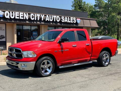 2012 RAM Ram Pickup 1500 for sale at Queen City Auto Sales in Charlotte NC