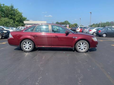 2008 Ford Taurus for sale at Hilltop Auto in Clare MI