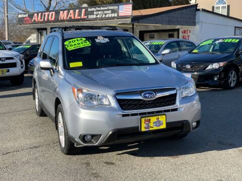 2014 Subaru Forester for sale at Milford Auto Mall in Milford MA