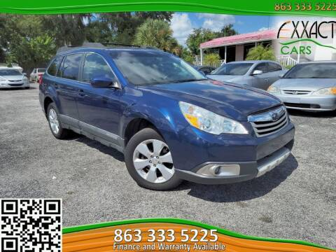2010 Subaru Outback for sale at Exxact Cars in Lakeland FL