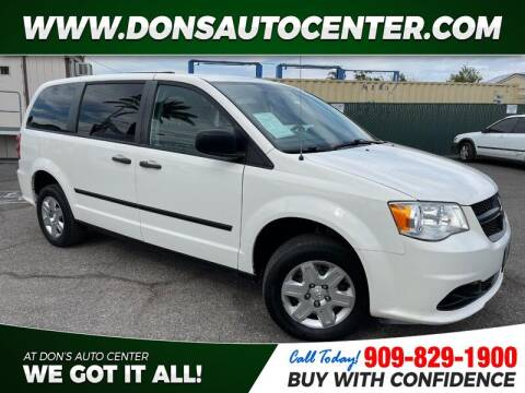 2013 RAM C/V for sale at Dons Auto Center in Fontana CA