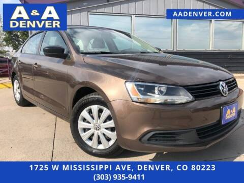 2014 Volkswagen Jetta for sale at A & A AUTO LLC in Denver CO