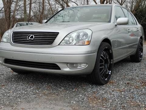 2002 Lexus LS 430 for sale at Snap Auto in Morganton NC