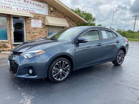 2015 Toyota Corolla for sale at Browning's Reliable Cars & Trucks in Wichita Falls TX