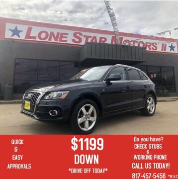 2012 Audi Q5 for sale at LONE STAR MOTORS II in Fort Worth TX