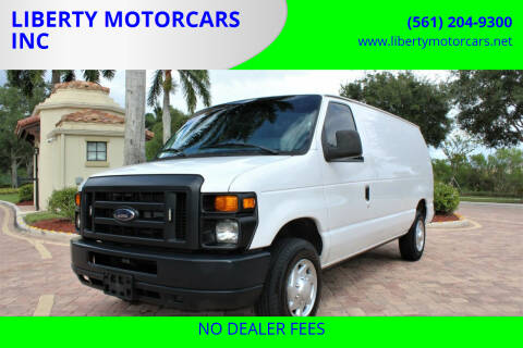 2013 Ford E-Series Cargo for sale at LIBERTY MOTORCARS INC in Royal Palm Beach FL