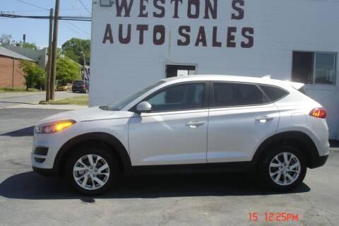 2019 Hyundai Tucson for sale at Weston's Auto Sales, Inc in Crewe VA