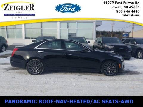 2017 Cadillac CTS for sale at Zeigler Ford of Plainwell- Jeff Bishop in Plainwell MI