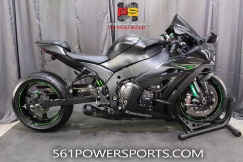 2016 Kawasaki Ninja ZX-10R ABS for sale at Powersports of Palm Beach in Hollywood FL