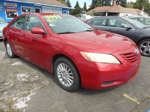 2007 Toyota Camry for sale at Lino's Autos Inc in Vancouver WA
