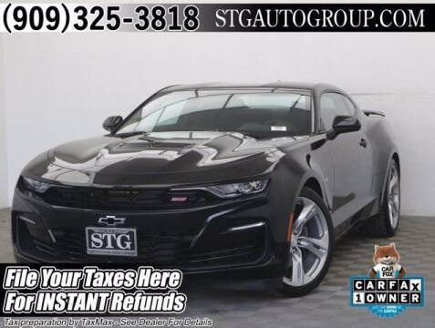 2019 Chevrolet Camaro for sale at STG Auto Group in Montclair CA