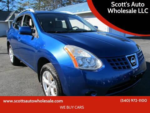 2008 Nissan Rogue for sale at Scott's Auto Wholesale LLC in Locust Grove VA