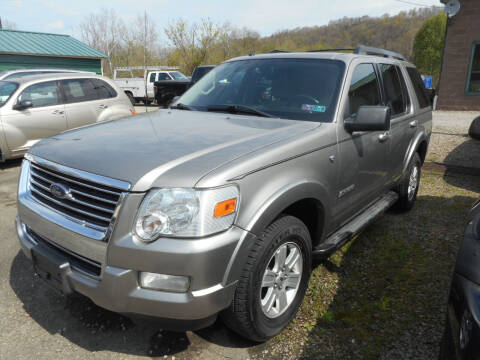 2008 Ford Explorer for sale at Sleepy Hollow Motors in New Eagle PA