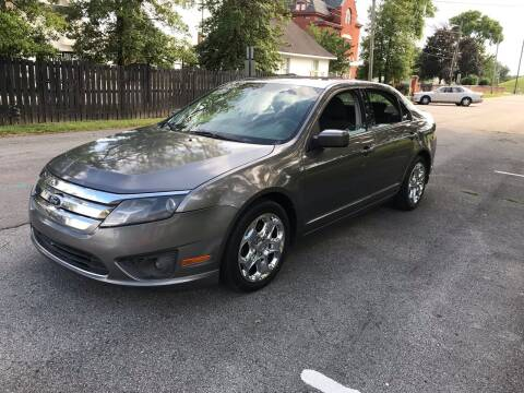 2010 Ford Fusion for sale at Eddie's Auto Sales in Jeffersonville IN
