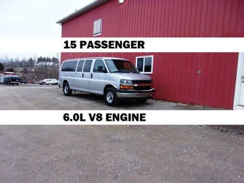 2017 Chevrolet Express Passenger for sale at Windy Hill Auto and Truck Sales in Millersburg OH