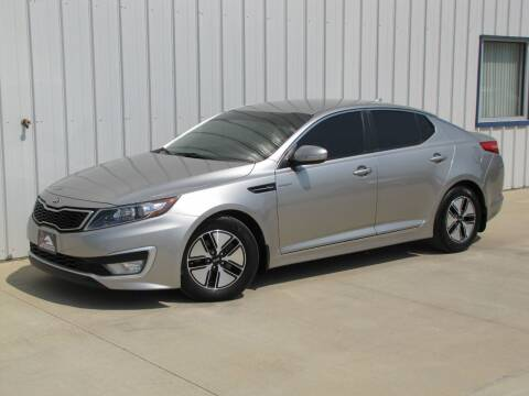 2013 Kia Optima Hybrid for sale at Lyman Auto in Griswold IA