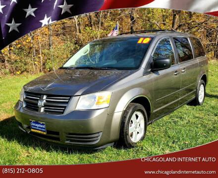 2010 Dodge Grand Caravan for sale at Chicagoland Internet Auto - 410 N Vine St New Lenox IL, 60451 in New Lenox IL