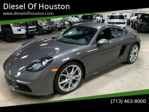 2019 Porsche 718 Cayman for sale at Diesel Of Houston in Houston TX