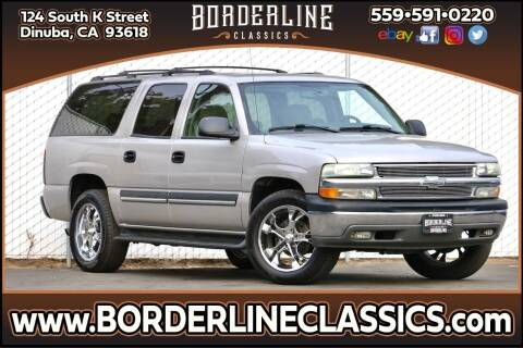 2004 Chevrolet Suburban for sale at Borderline Classics in Dinuba CA