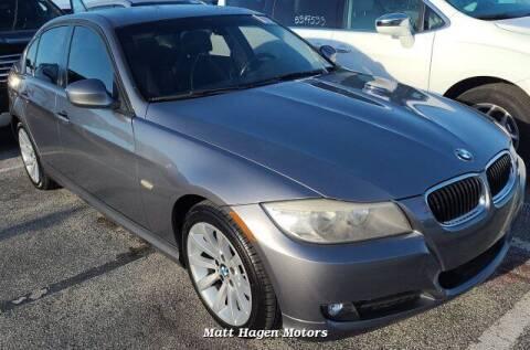 2011 BMW 3 Series for sale at Matt Hagen Motors in Newport NC