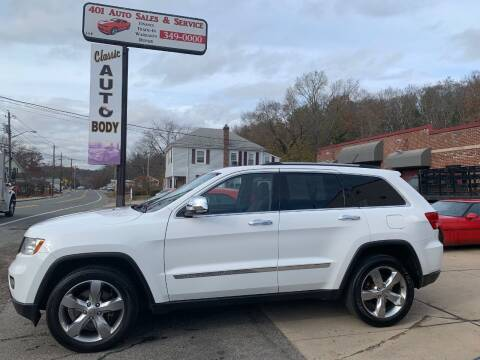 2013 Jeep Grand Cherokee for sale at 401 Auto Sales & Service in Smithfield RI