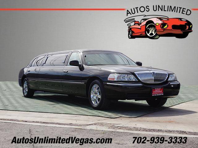 2010 Lincoln Town Car for sale at Autos Unlimited in Las Vegas NV
