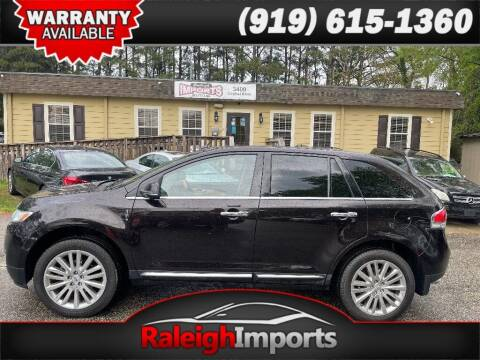 2013 Lincoln MKX for sale at Raleigh Imports in Raleigh NC