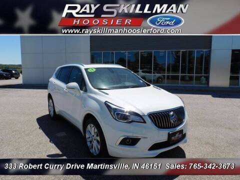 2018 Buick Envision for sale at Ray Skillman Hoosier Ford in Martinsville IN
