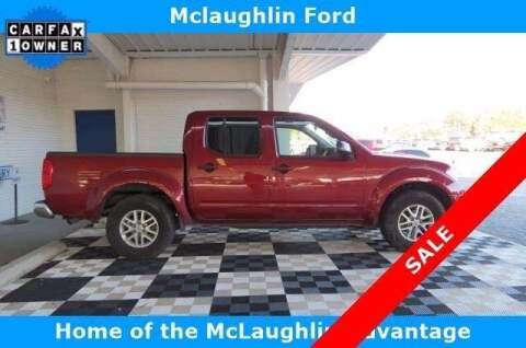 2019 Nissan Frontier for sale at McLaughlin Ford in Sumter SC