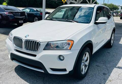 2011 BMW X3 for sale at Klassic Cars in Lilburn GA