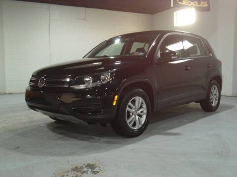2012 Volkswagen Tiguan for sale at Ohio Motor Cars in Parma OH