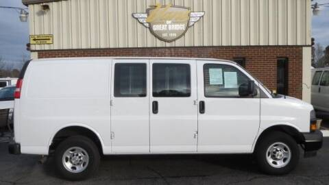 2020 Chevrolet Express Cargo for sale at Vans Of Great Bridge in Chesapeake VA
