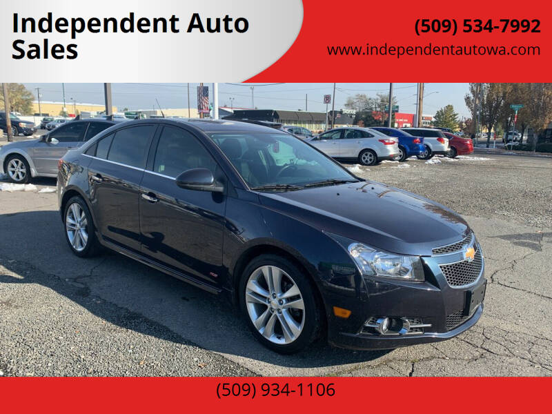 2014 Chevrolet Cruze for sale at Independent Auto Sales #2 in Spokane WA
