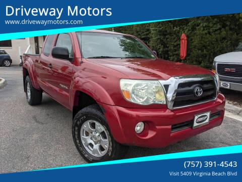 2005 Toyota Tacoma for sale at Driveway Motors in Virginia Beach VA