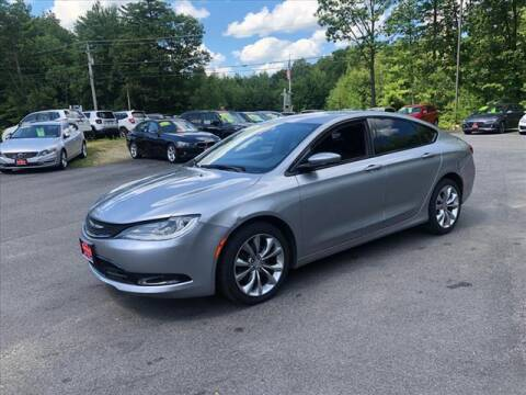 2015 Chrysler 200 for sale at North Berwick Auto Center in Berwick ME