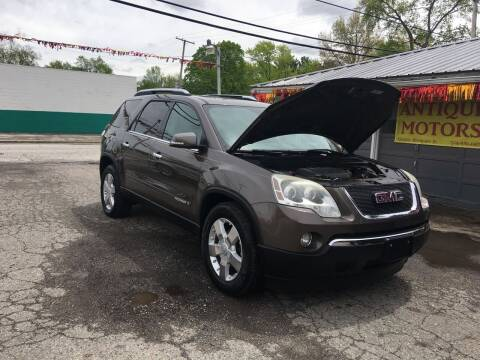 2008 GMC Acadia for sale at Antique Motors in Plymouth IN