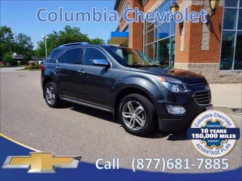2017 Chevrolet Equinox for sale at COLUMBIA CHEVROLET in Cincinnati OH