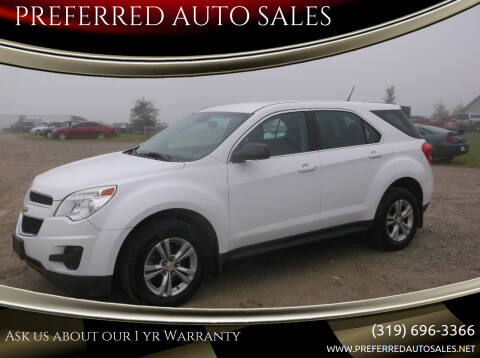 2014 Chevrolet Equinox for sale at PREFERRED AUTO SALES in Lockridge IA