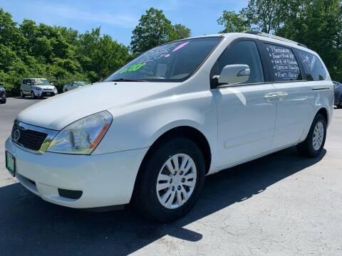 2012 Kia Sedona for sale at FREDDY'S BIG LOT in Delaware OH